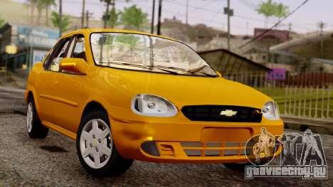 Chevrolet Corsa Classic 2009 v2 для GTA San Andreas