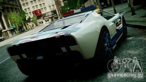 Bullet Police Car для GTA 4 вид слева