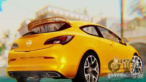 Opel Astra J OPC для GTA San Andreas