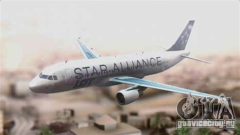 LOT Polish Airlines Airbus A320-200 для GTA San Andreas