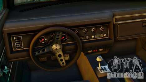 GTA 5 Vapid Dominator Pisswasser SA Lights для GTA San Andreas вид справа