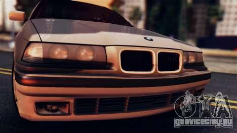BMW 316i Touring для GTA San Andreas вид сзади слева