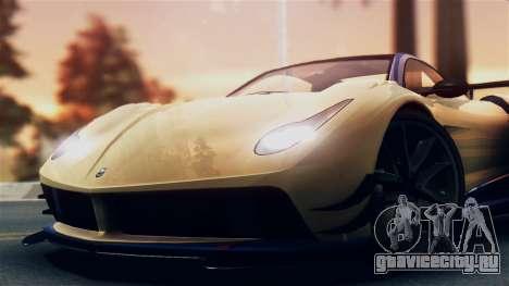 Pegassi Osiris from GTA 5 IVF для GTA San Andreas вид сзади слева