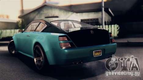 GTA 5 Enus Windsor для GTA San Andreas вид слева