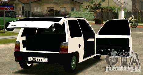 ВАЗ 1111 Ока для GTA San Andreas вид сзади слева