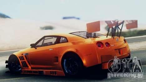 Nissan GT-R (R35) GT3 2012 PJ5 для GTA San Andreas вид слева