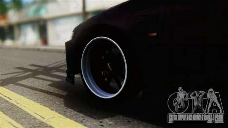 Honda Civic EG6 Kotomi Clannad Itasha для GTA San Andreas вид сзади слева