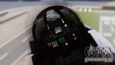 Grumman F-14A Tomcat для GTA San Andreas вид сзади