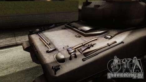 M4 Sherman v1.1 для GTA San Andreas вид справа