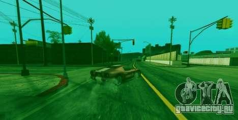 Спец способность Франклина с индикатором для GTA San Andreas второй скриншот