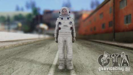 Astronaut Skin from GTA 5 для GTA San Andreas