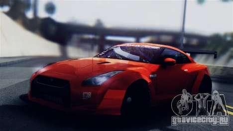 Nissan GT-R R35 LW для GTA San Andreas