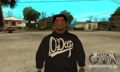 Groove Skin для GTA San Andreas