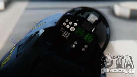 F-14J Super Tomcat JASDF для GTA San Andreas вид сзади