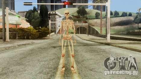 Skeleton Skin v1 для GTA San Andreas второй скриншот