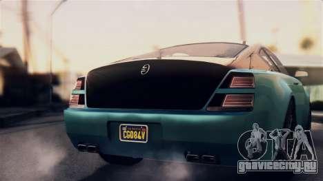 GTA 5 Enus Windsor для GTA San Andreas вид справа