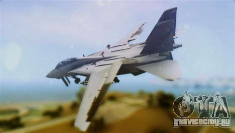 F-14A Tomcat VF-111 Sundowners Low Visibility для GTA San Andreas вид слева