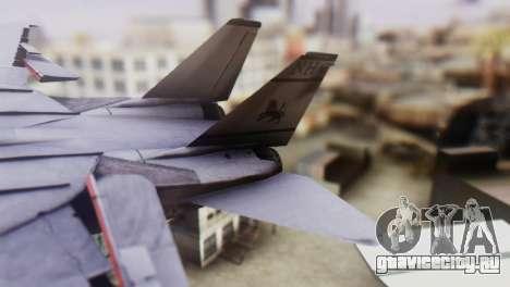F-14A Tomcat VF-33 Starfighters для GTA San Andreas вид сзади слева