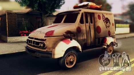 Sweet Tooth Car для GTA San Andreas