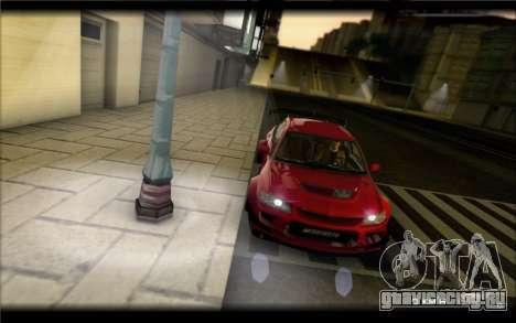 Mitsubishi Lancer Evolution IX Street Edition для GTA San Andreas вид слева