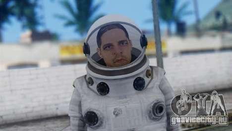 Astronaut Skin from GTA 5 для GTA San Andreas третий скриншот