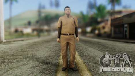 Post OP Skin from GTA 5 для GTA San Andreas