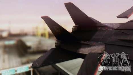 Grumman F-14D Super Tomcat для GTA San Andreas вид сзади слева