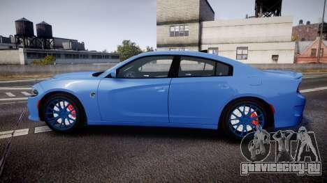 Dodge Charger SRT 2015 Hellcat для GTA 4 вид слева