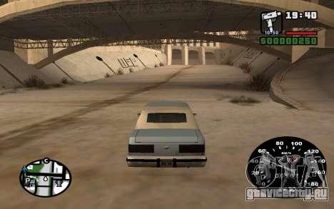 Спидометр от ВАЗ 2105 для GTA San Andreas третий скриншот