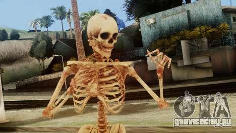 Skeleton Skin v1 для GTA San Andreas