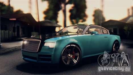 GTA 5 Enus Windsor для GTA San Andreas