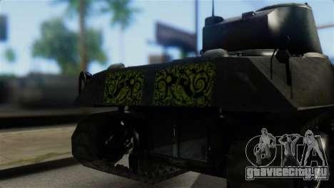 M4 Sherman Gawai Special 2 для GTA San Andreas вид сзади