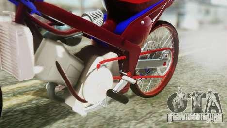 Dream 110 cc of Thailand для GTA San Andreas вид сзади