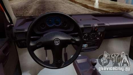Chevrolet Corsa Classic 2009 v2 для GTA San Andreas вид сзади слева