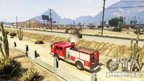 Миссии пожарного v2.0 для GTA 5 третий скриншот