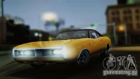 GTA 5 Imponte Dukes для GTA San Andreas вид слева