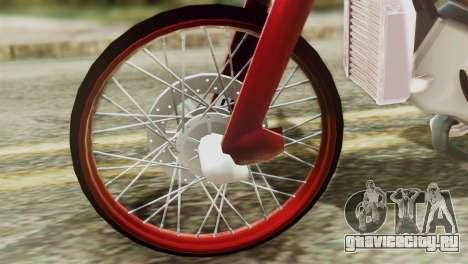 Dream 110 cc of Thailand для GTA San Andreas вид справа