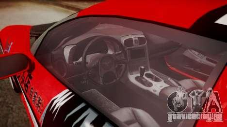 Chevrolet Corvette Z51 Another Itasha для GTA San Andreas вид справа