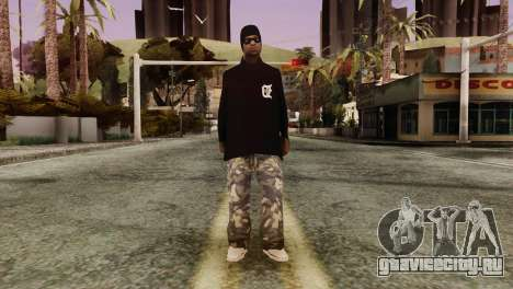 New Ballas Skin для GTA San Andreas второй скриншот