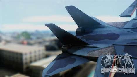 F-14J Super Tomcat JASDF для GTA San Andreas вид сзади слева