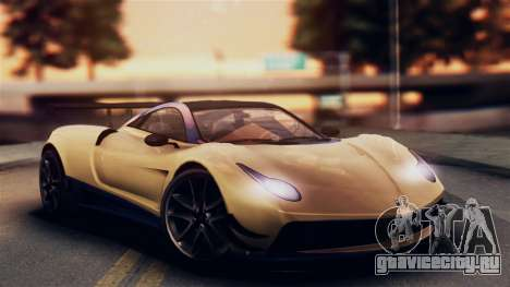 Pegassi Osiris from GTA 5 IVF для GTA San Andreas