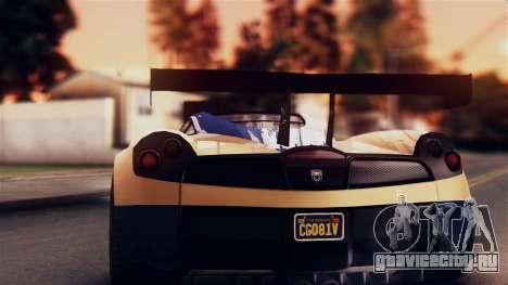Pegassi Osiris from GTA 5 IVF для GTA San Andreas вид изнутри