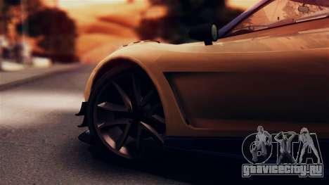 Pegassi Osiris from GTA 5 IVF для GTA San Andreas вид сзади