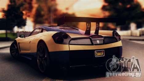 Pegassi Osiris from GTA 5 IVF для GTA San Andreas вид слева