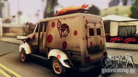 Sweet Tooth Car для GTA San Andreas вид слева