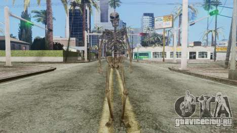 Skeleton Skin v2 для GTA San Andreas второй скриншот