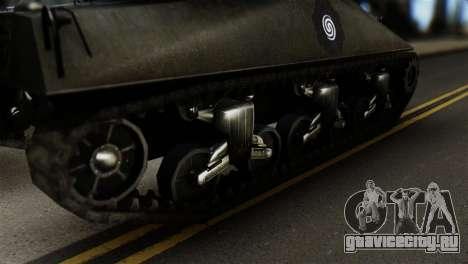 M4 Sherman Gawai Special 2 для GTA San Andreas вид сзади слева