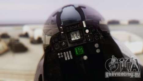 F-14A Tomcat VF-33 Starfighters для GTA San Andreas вид сзади