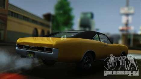 GTA 5 Imponte Dukes для GTA San Andreas вид сзади слева
