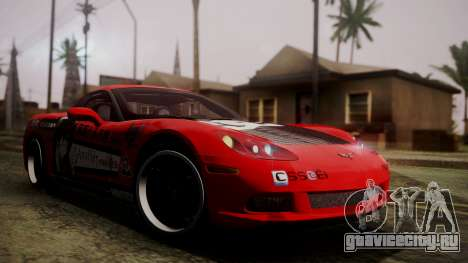 Chevrolet Corvette Z51 Another Itasha для GTA San Andreas